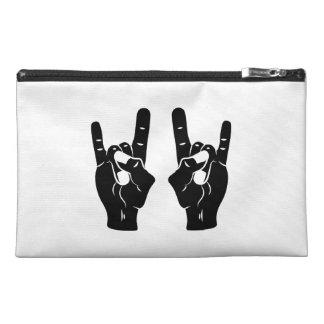 Rock n Roll Devil Horns Travel Accessories Bags