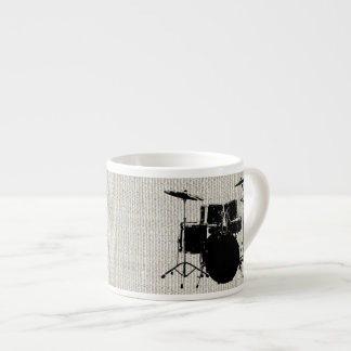 Rock n Roll Drums Espresso Cup