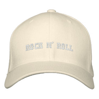 ROCK N' ROLL EMBROIDERED HATS