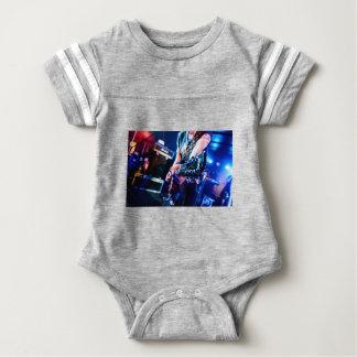 Rock 'n' Roll Guitar Baby Bodysuit