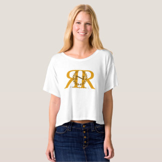 Rock -n- Roll Jersey Boxey crop T-shirt