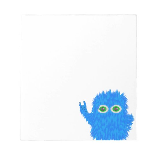 Rock N Roll Monster Notepad