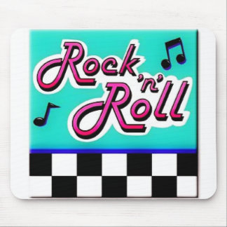 """Rock """"n"""" Roll Mouse Pad"""