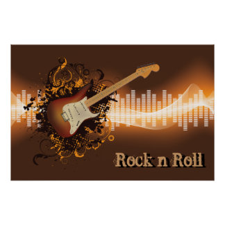 Rock N Roll - Music Poster