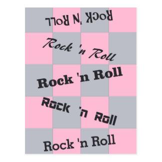Rock N' Roll Postcard