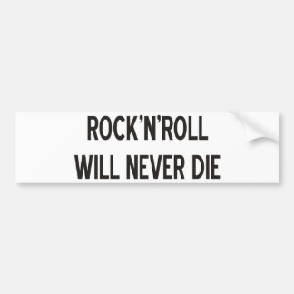 Rock 'n' Roll Products & Designs! Bumper Stickers