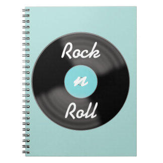 Rock N Roll Record Notebook