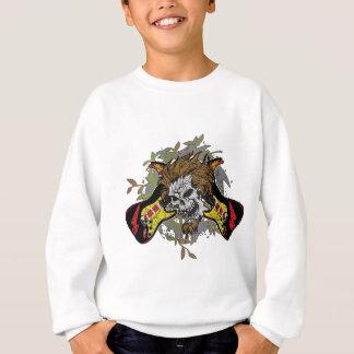 Rock n Roll Skull Sweatshirt