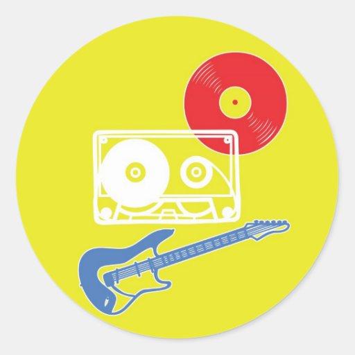 Rock 'n' Roll Sticker