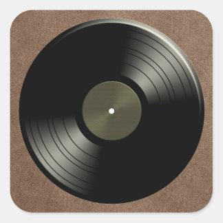 Rock n Roll Vinyl Record Album Stickers