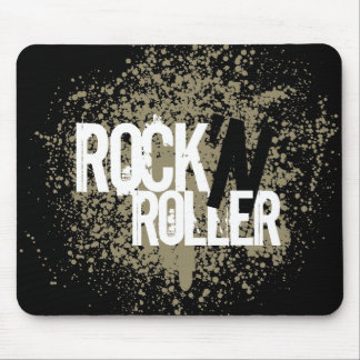 Rock 'n' Roller mousepad