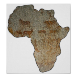 Rock of Africa Poster