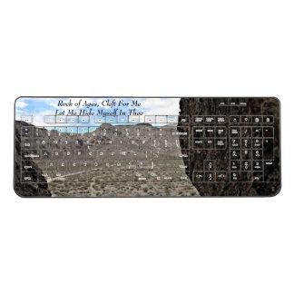 Rock of Ages Wireless Keyboard