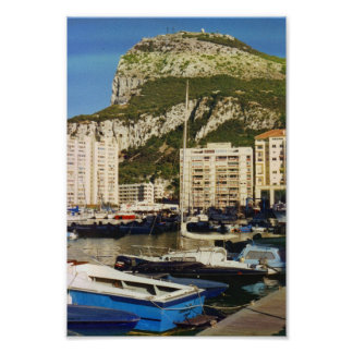 Rock of Gibraltar Poster