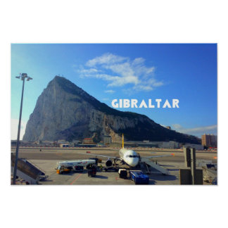 Rock of Gibraltar Value Poster Paper