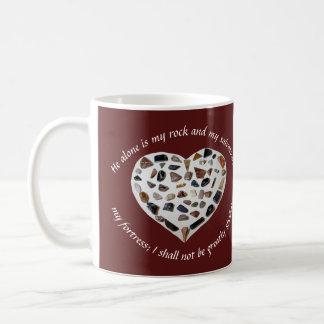Rock of My Salvation Bible Verse Mug