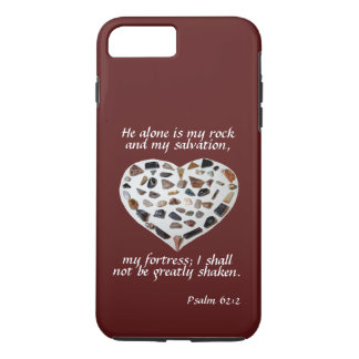 Rock of My Salvation Bible Verse Phone Case