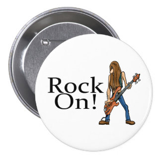 Rock On! Button
