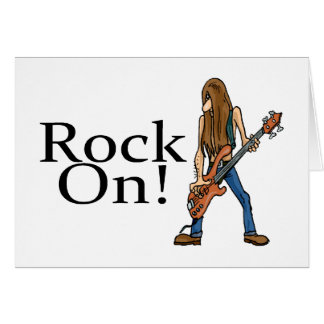 Rock On! Card