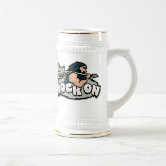 Rock On Caveman Beer Steins