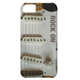 Rock On Electric Guitar iPhone 5C Cases