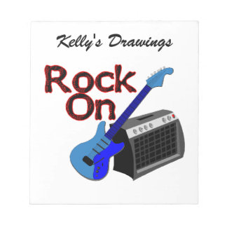 Rock On Guitar & Amp Notepads
