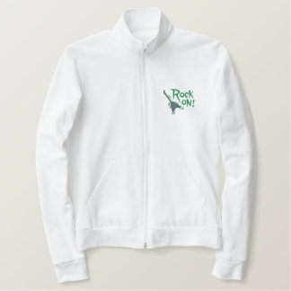 Rock On Guitar Embroidered Jacket