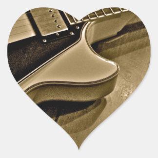 Rock On Heart Sticker