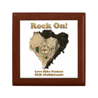 ROCK ON! Love Hike Protect Our Public Lands Gift Box