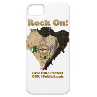 ROCK ON! Love Hike Protect Our Public Lands iPhone 5 Case