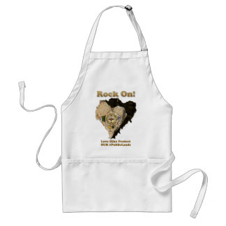 ROCK ON! Love Hike Protect Our Public Lands Standard Apron