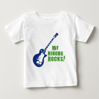 Rock On! Ninong Baby T-Shirt