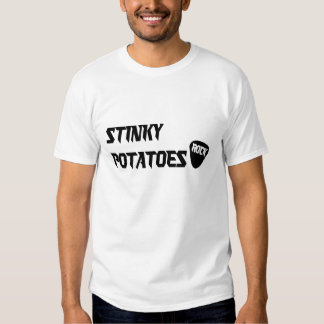 Rock On -- Stinky Potatoes Tshirt