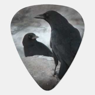 Rock Out Crows Guitar Pick
