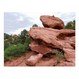 Rock Outcrop at Garden of the Gods Postcard