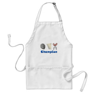Rock Paper Scissors Champ Standard Apron