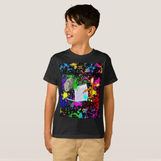 Rock! Paper! Scissors! Fresh Paint Edition T-Shirt