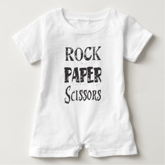 Rock.Paper.Scissors Romper