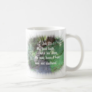Rock Path Christian bible verse nature photo Coffee Mug