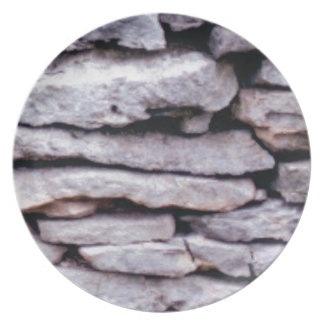 rock pile formed plate