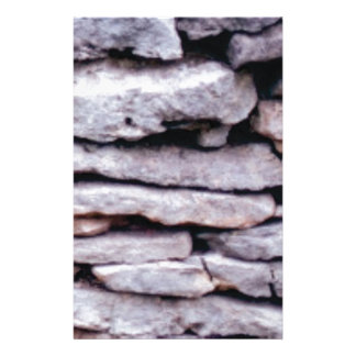 rock pile formed stationery