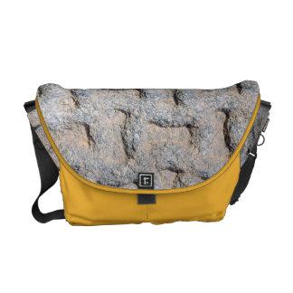 Rock Print Messenger Bags