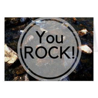 Rock Pun Greeting Card
