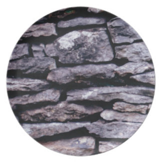 rock puzzle plate