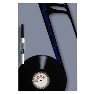 Rock Record Note Dry-Erase Whiteboards