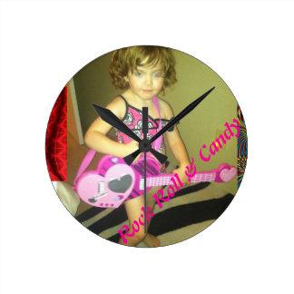 Rock Roll & Candy Wall Clock