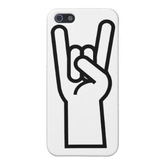 Rock & Roll Hand Symbol iPhone 5 Cover