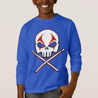 Rock & Roll Kid's Shirt Heavy Metal Drummer Shirt