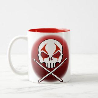 Rock & Roll Mug Cup Heavy Metal Drummer Cups Gifts