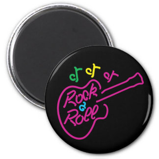 Rock & Roll Neon Magnet